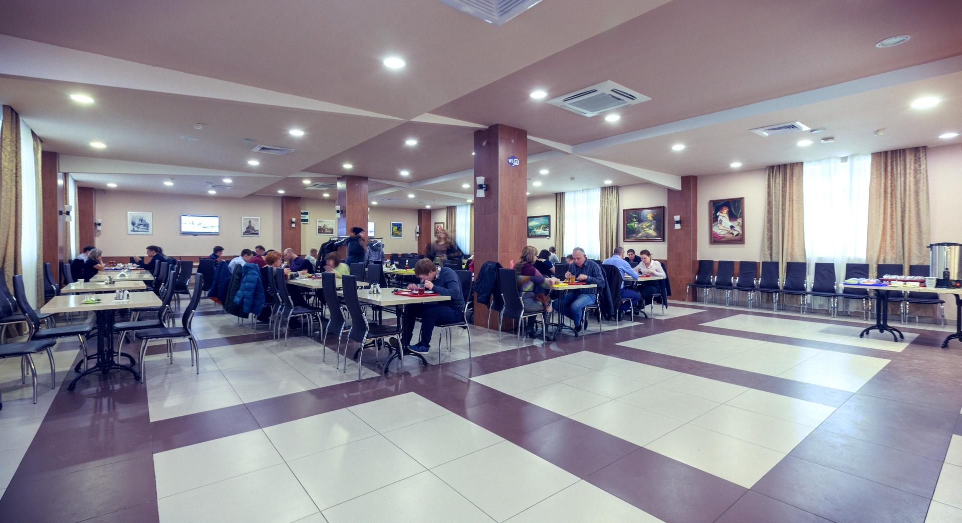 Столовая в БЦ Дорогобуржский